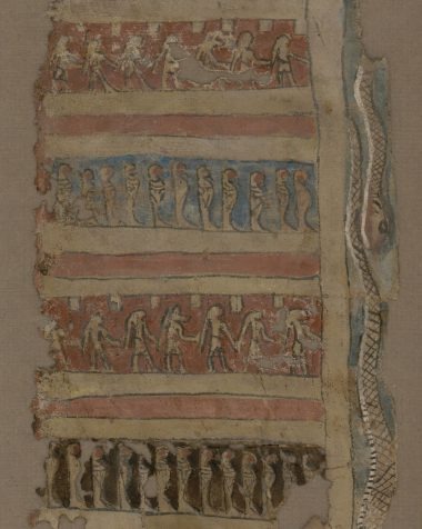 Canvas with Snakes of Black Pharaohs.